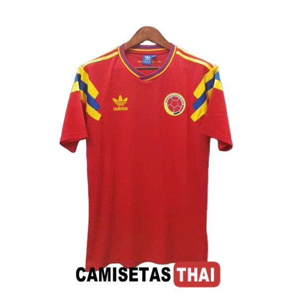1990 camiseta retro local colombia