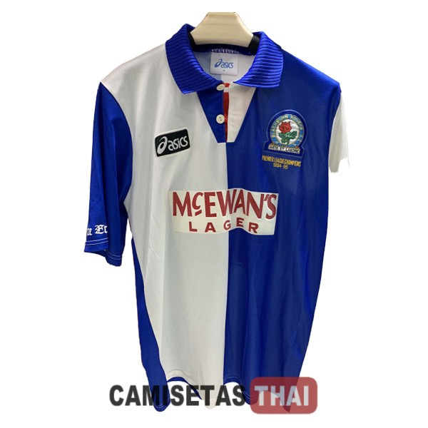 1994-1995 camiseta retro local blackburn rovers