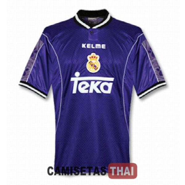 1997-1998 camiseta retro lejos real madrid