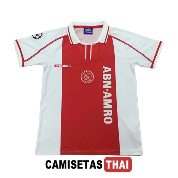 1998 camiseta retro local ajax
