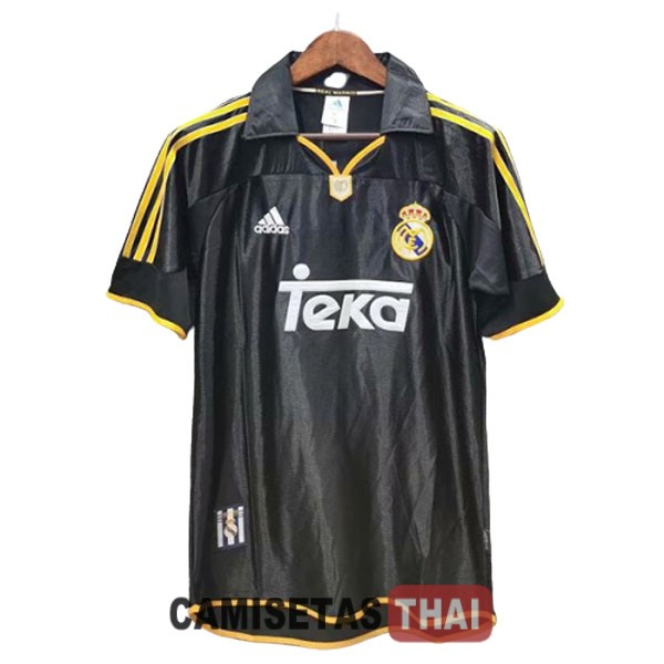 1999-2001 camiseta retro lejos real madrid
