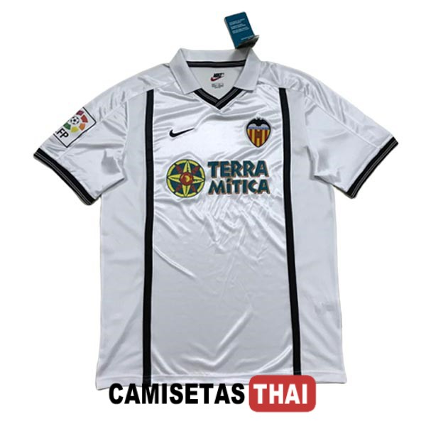 2000-2001 camiseta retro local valencia