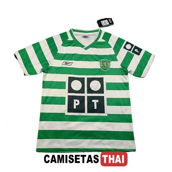 2003-2004 camiseta retro local sporting lisboa