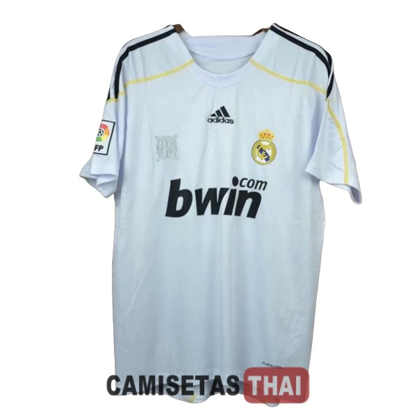2009-2010 camiseta retro local real madrid