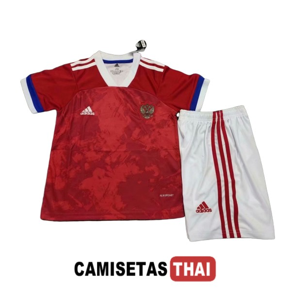 2020 camiseta ninos equipacion local rusia